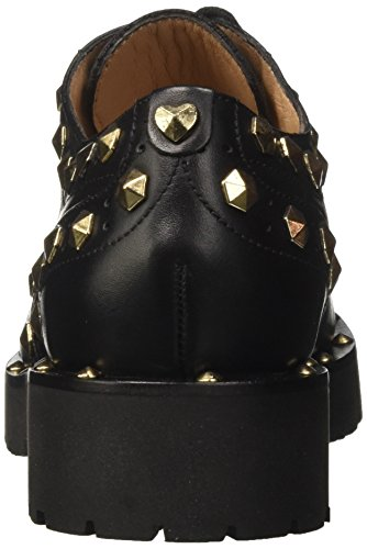 Ca7pae Twin Negro Zapatos Mujer 00006 Nero Derby Set gnqavS