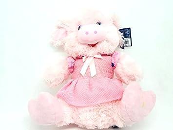 Peluche Cerdita rosa 39x30 cm