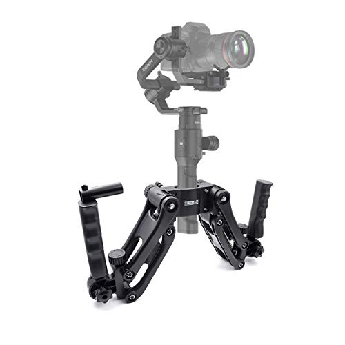 - STARTRC Ronin S Z Axis Flexiable Damping Spring Dual Handle Grip Bracket for Ronin S,MOZA Air 2, ZHIYUN Crane 2/Plus/V2 FEIYU AK2000/4000 and More 3 Axis Gimbal Stabilizer