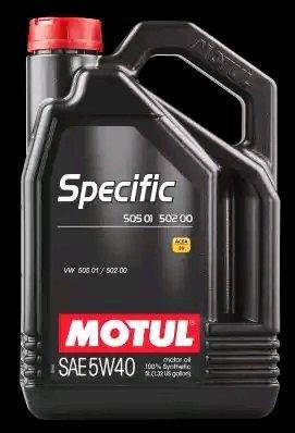 MOTUL 101575 - LATA ACEITE SPECIFIC 5W40 5L 50501 50200: Amazon.es: Coche y moto