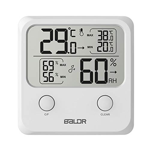 Homekit - Digital Indoor Lcd Portable Wall Humidity Plastic Electronic With Stand Mini Temperature Hygro - Temperature Smokers Smoker Cars Indoor Automotive Trucks Gauges