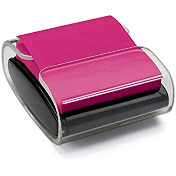 Post-it Pop-up Note Dispenser, Black, Includes one pad of accordion-style Post-it Pop-up Notes (WD-330-BK)