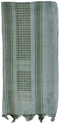 Mafoose Premium Shemagh Keffiyeh Head Neck Military Tactical Desert Scarf Wrap Foliage/Green (Foliage Shemagh)