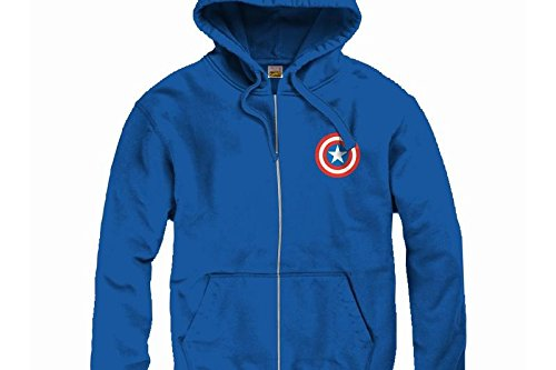 Falcon Land Captain America – Sweatshirt, Blau