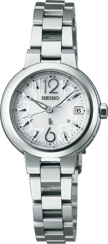 SEIKO LUKIA Water resistant (10 atm) radio-corrected super clear coating sapphire glass solar Women's watch SSVW015 [Japan Import]