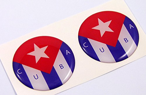 cuban flag car decal - 8