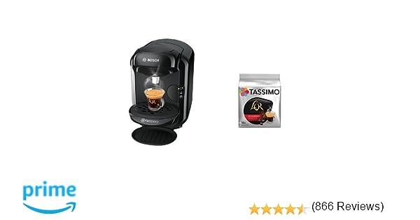 Bosch TAS1402 Tassimo Vivy 2 (color negro) + Pack café 5 paquetes ...