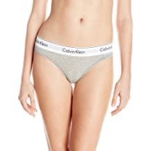 Calvin Klein womens Modern Cotton Thong Panty