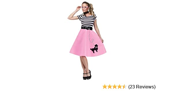 6220a63f71156 Amazon.com: Soda Shop Sweetie Adult Costume - Womens Sm/Md (2-8): Clothing