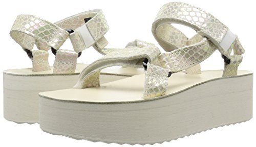 e723f7fdf03 Teva Women s Flatform Universal Iridescent Sandal good ...