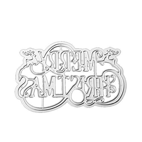 Metal Die Cutting Dies Stencil for DIY Scrapbooking Album Paper Card Decor Craft by Topunder H