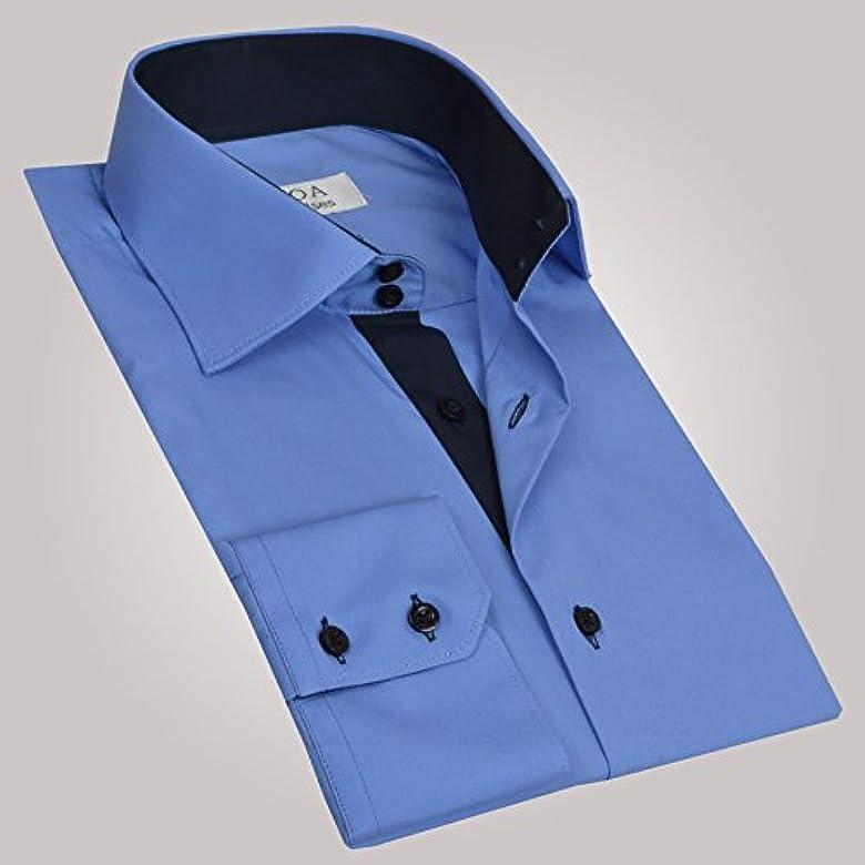 Ozoa-Camisa para hombre, color azul marino, camisa CINTREE interior Azul Medium: Amazon.es: Ropa y accesorios