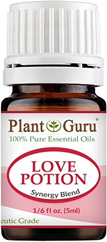 Love Potion Synergy Essential Oil Blend 5 ml 100% Pure, Undi