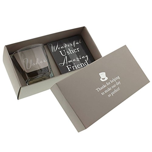 Usher Gift Set | Whisky Glass and