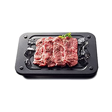 Chef-Tech Defrosting & Chopping Board, High Quality Fast Defrosting Tray,Defrost up to 65% faster , The Safest Way to Defrost Meat or Frozen Food Quickly Without Electricity or Microwave,