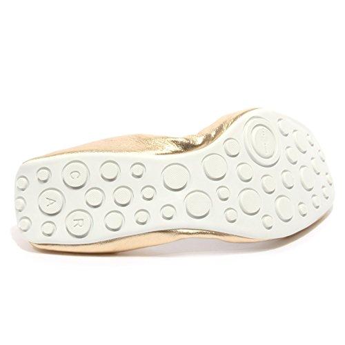 SHOE ballerina scarpa donna CAR B2414 oro oro woman shoe argento argento nappa AtwdxA5q