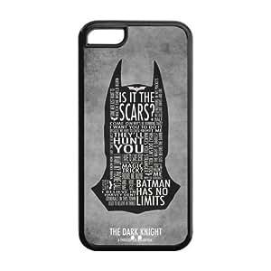 LJF phone case the Case Shop- Bat Man BatMan Bat man Super Hero TPU Rubber Hard Back Case Silicone Cover Skin for ipod touch 4 , i5cxq-803