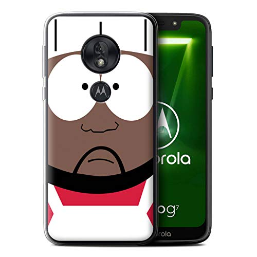eSwish Gel TPU Phone Case/Cover for Motorola Moto G7 Play/Chef Design/Funny South Park Inspired Collection (South Park The Stick Of Truth Chef)