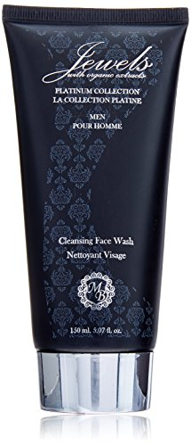 Mens Platinum Collection - Micabeauty Cosmetics Platinum Collection Cleansing Face Wash for Men, 5.07 Ounce