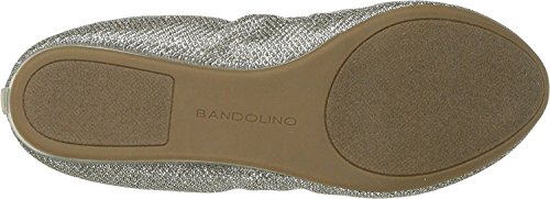 Fadri Metallic Women's Gold Bandolino Flat Banding Material Glamour Napp Metallic Ballet fP5xwAwq0