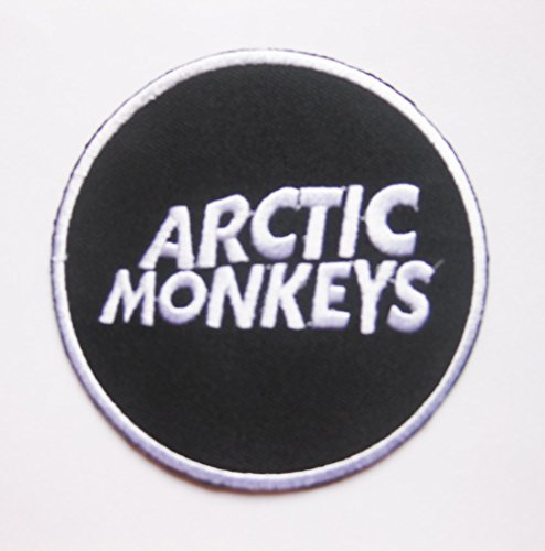Arctic Monkeys Music Rock Band Patch Logo Sew Iron on Embroidered Appliques Badge Sign Costumev