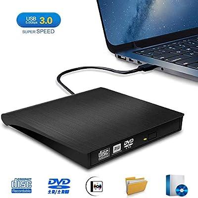 Grabadora DVD/CD Externa, iAmotus Lector DVD Portátil USB 3.0 CD ...
