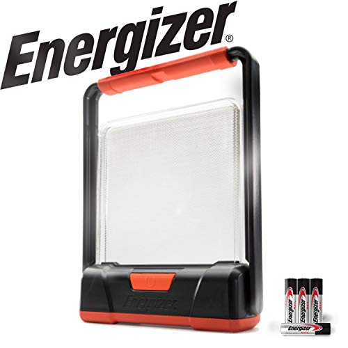 Energizer LED Lantern with Light Fusion Technology - Versatile Work, Area Light - Uses AA Batteries (Best Aa Alkaline Batteries 2019)