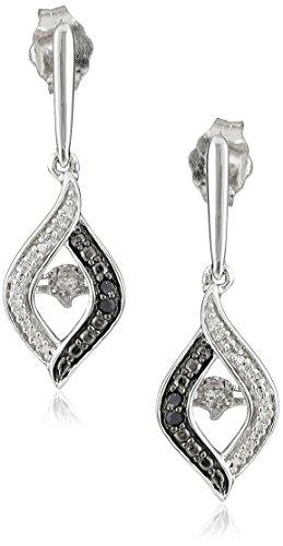 Sterling Silver Dancing Diamond Earrings product image