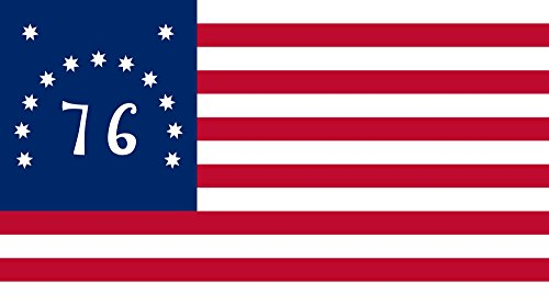 Bennington Flag from SoCal Flags 3x5 Foot Polyester Historical Banner Weather Resistant Durable - 100d Material Not See Thru Like Other Brands