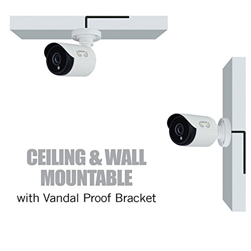Night Owl Security, 2 Pack Add–On 1080p HD Wired Security Bullet Cameras (White) by Night Owl (Image #4)