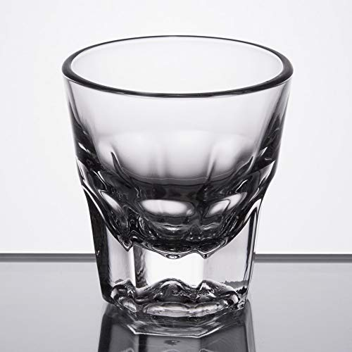 (Set of 6 Libbey 15248 Gibraltar DuraTuff 4.5 oz Rocks Glass w/Signature Party Picks)