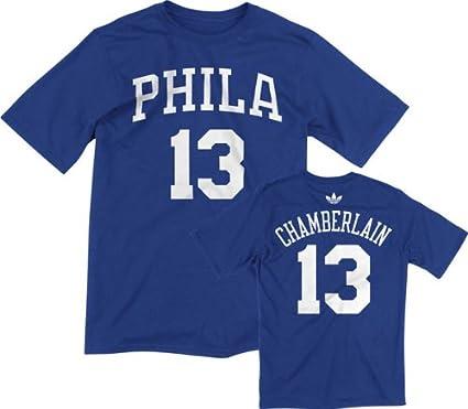 new styles 0a0d0 472a9 Amazon.com : Wilt Chamberlain Philadelphia 76ers 100 Point ...
