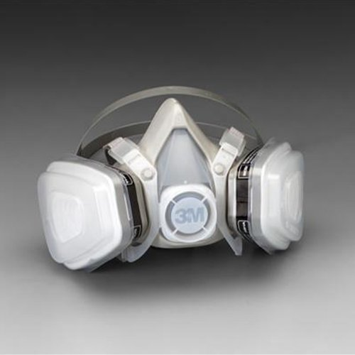 3M Dual Cartridge Organic Vapor Respirator Assembly - Small - ()