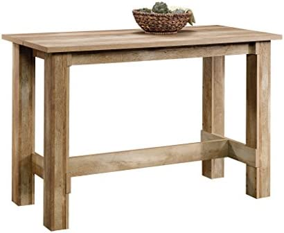 picture of Sauder Boone Mountain Counter Height Dining Table, Craftsman Oak finish