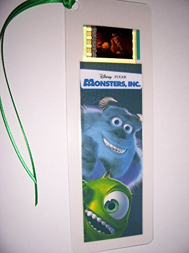 MONSTERS INC Movie Film Cell Bookmark memorabilia Compliments poster dvd book -