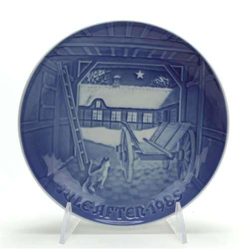 Christmas Plate by Bing & Grondahl, Porcelain Decorators Plate