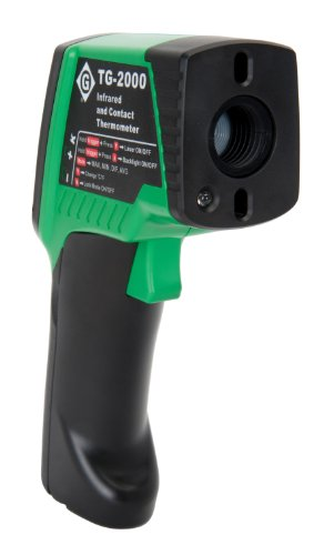 Greenlee TG-2000 Dual Laser Infrared Thermometer by Greenlee (Image #1)