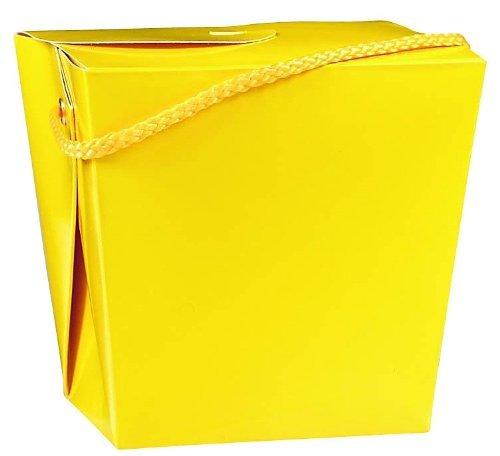 amscan Party Friendly Plain Medium Take Out Style Favor Box, 4