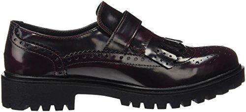 XTI 46275 - Zapatos Oxford para mujer Rojo (BURDEOS)