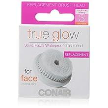 Conair True Glow Sonic Facial Brush Replacement Brush Heads