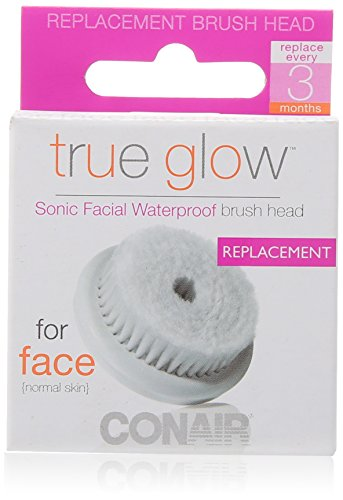 Conair True Glow Sonic Facial Brush Replacement Brush Heads (Conair Brush Face compare prices)