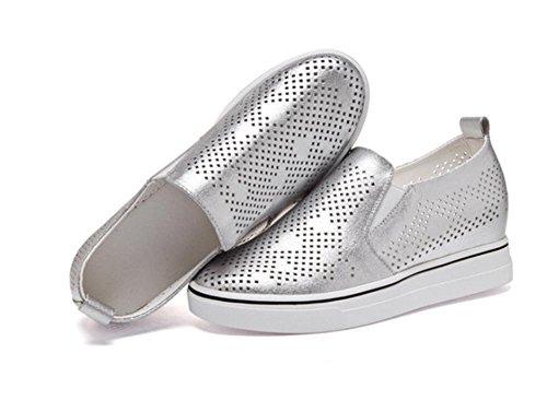 La signora Primavera scarpe ascensore pendenza scarpe cavo con fondo pesante scarpe sportive, scarpe casual scarpe studenti , US6.5-7 / EU37 / UK4.5-5 / CN37