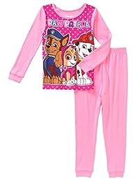 Nickelodeon Paw Patrol Two Piece Cotton Pajamas For Girls (12 Months)
