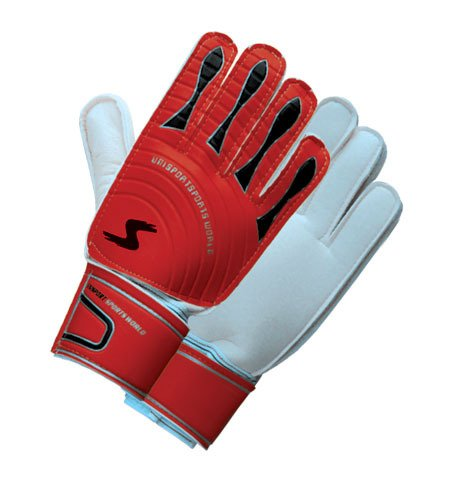 Goalie Soccer Gloves Durable Quality Red (Great Value for Money)