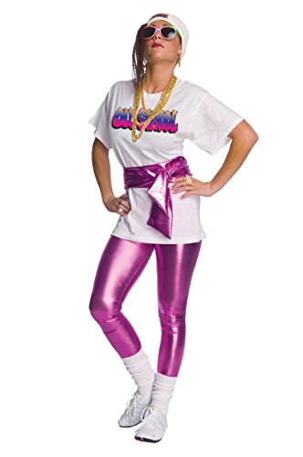 Pink Lame Leggings 1980s Costume 1990s Old School Bling Leggings