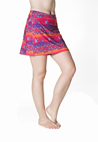 Skirt Sports Women's Happy Girl Skirt, Daybreak Print, ()