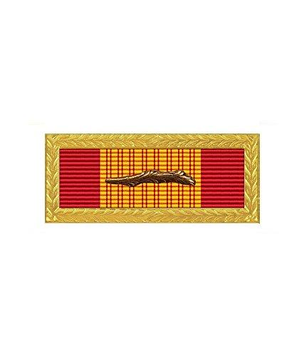 (Vietnam Gallantry Cross Unit Citation With Bronze Palm Device)