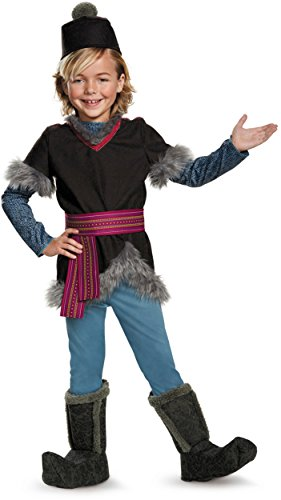Kristoff Deluxe Child Frozen Disney Costume, Small/4-6 (Costume For Frozen)