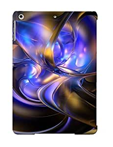 Special Stylishgojkqt Skin Case Cover For Ipad Air, Popular Fantasy Digital Art Phone Case For New Year's Day's Gift