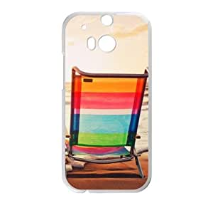 Best Custom Chair On The Beach Pattern Design,Beach Chairs 100% Plastic (Laser Technology) cases for HTC One M8